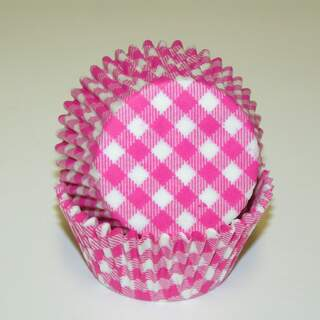 #450C GINGHAM HOT PINK