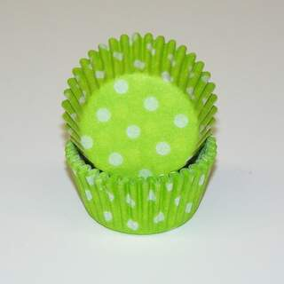 # 275 POLKA DOT LIME GREEN