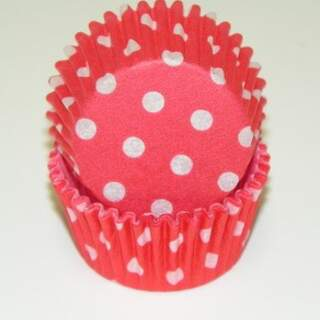 #275 POLKA DOT RED