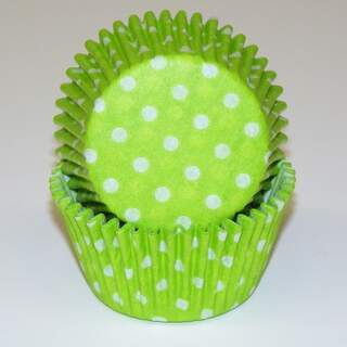 # 600 POLKA DOT LIME GREEN