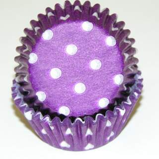 # 275 POLKA DOT PURPLE
