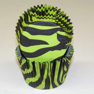 #450C ZEBRA BLACK W/ GREEN
