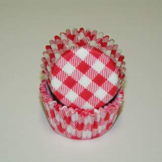 #275 GINGHAM RED