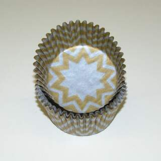 #450C CHEVRON SILVER/GOLD