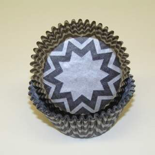 #450C CHEVRON BLACK/SILVER