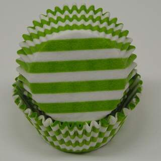 #450C STRIPES LIME GREEN