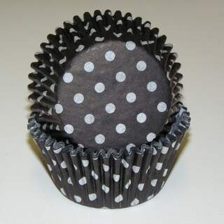 # 600 POLKA DOT BLACK