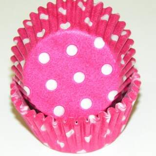 # 275 POLKA DOT HOT PINK