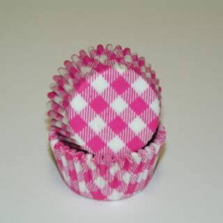 #275 GINGHAM HOT PINK