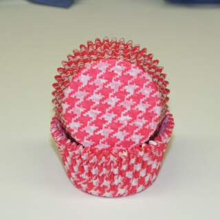 #450C HOUNDSTOOTH RED
