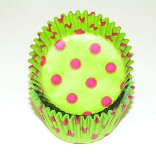#450C HD LIME / PINK DOTS