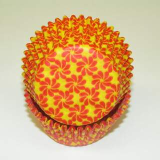 #450C PINWHEEL YELLOW W/ RED