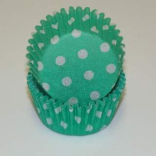 # 275 POLKA DOT GREEN