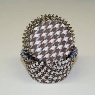 #450C HOUNDSTOOTH BROWN