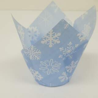 #TULIP CUP - BLUE SNOWFLAKE